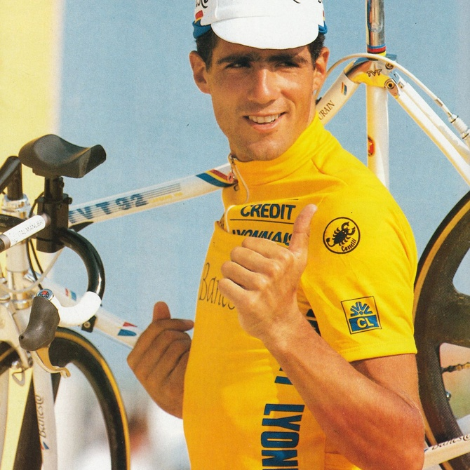 Ciclistas españoles que han ganado el Tour de Francia