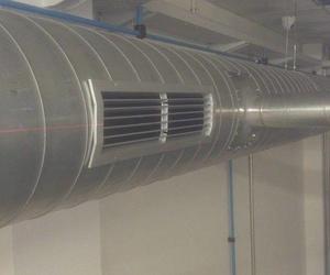 Instalación de extractor de gases