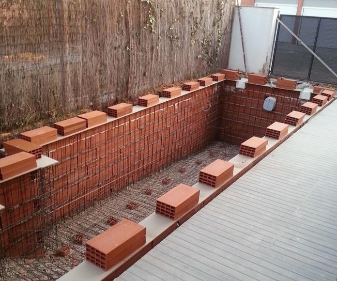 Construcción Piscina Obra 9x2 Paracuellos del Jarama
