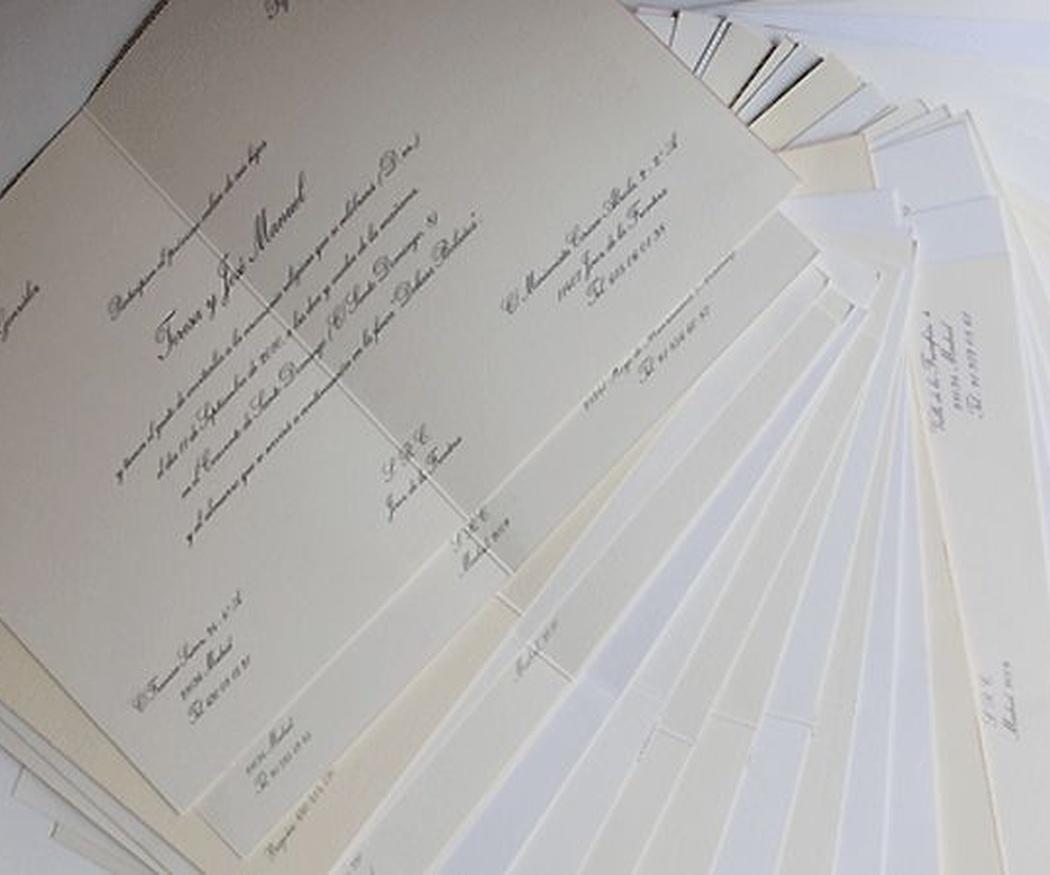 Ideas para diseñar tu invitación de boda