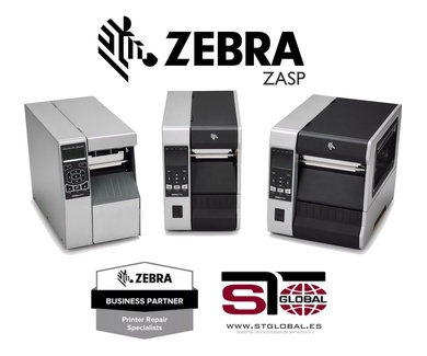 STGlobal nombrado Zebra Authorised Service - ZASP -
