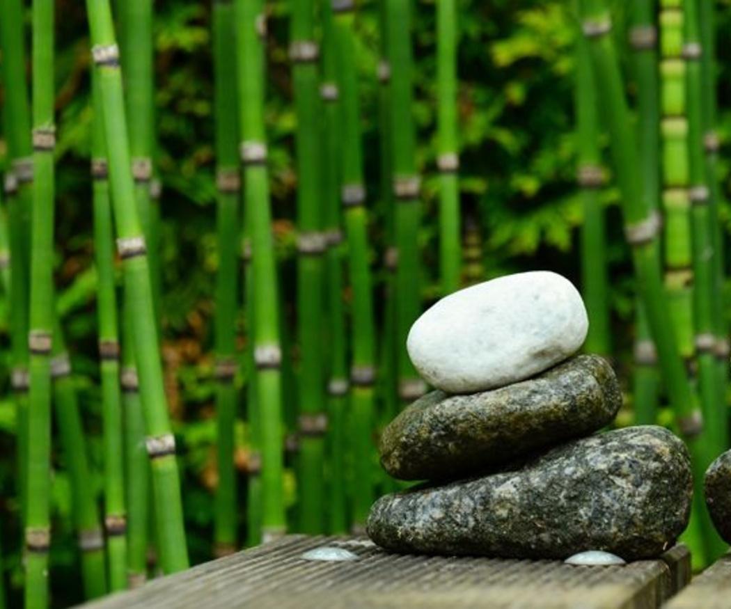 El encanto de la decoración con piedras