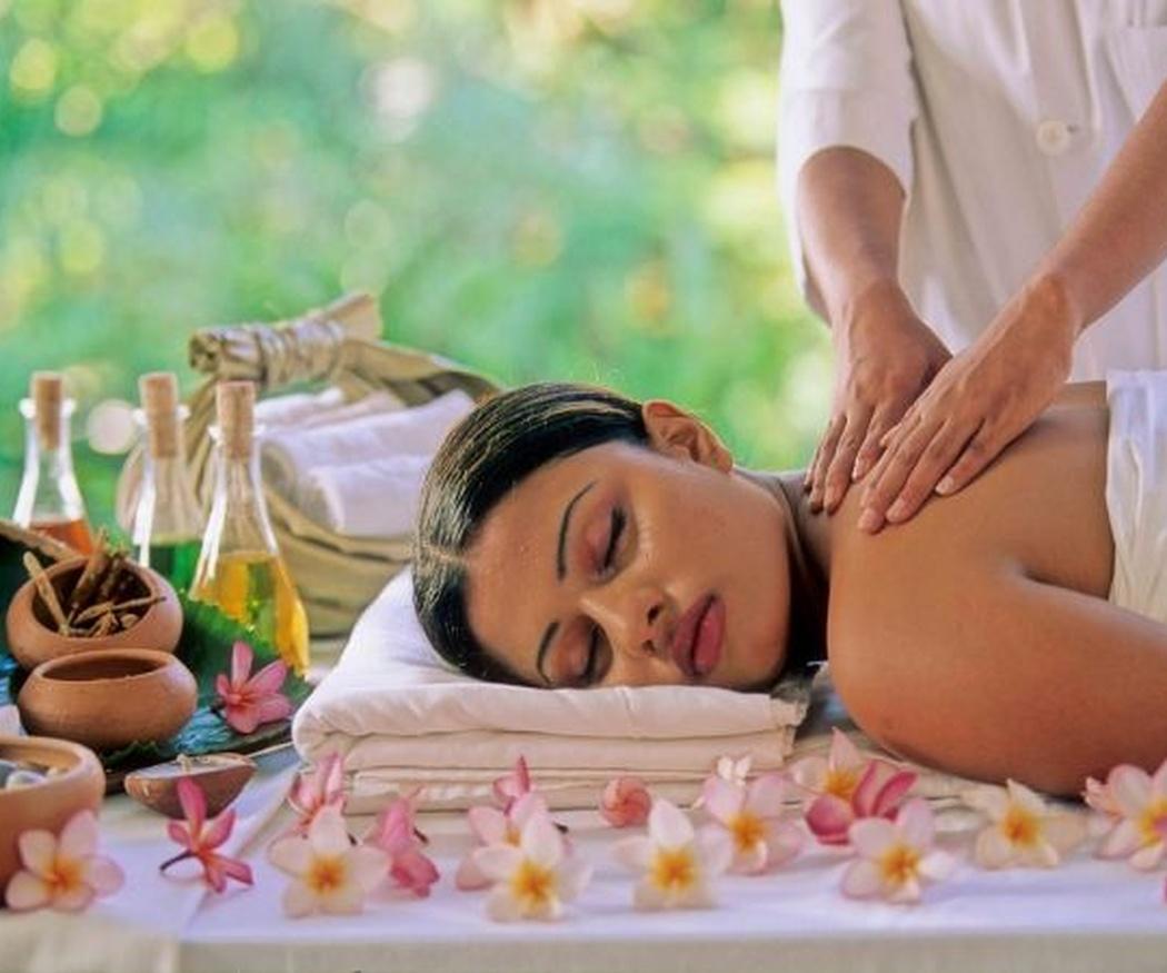 Los masajes ayurvédicos