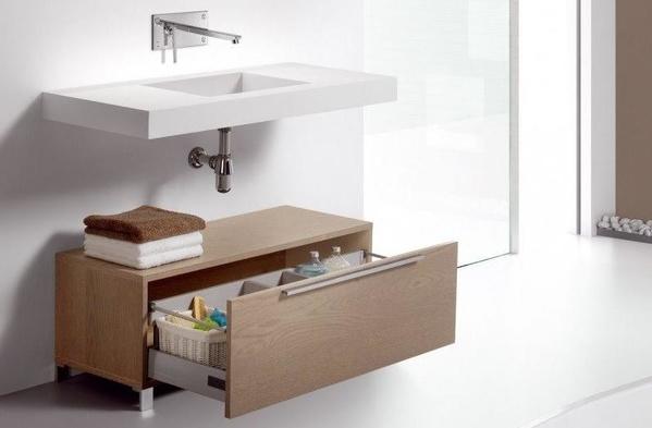 Modelo de baño Vidrebany colección Up&Down modelo Down