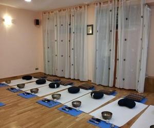 Sala de cursos de cuencos tibetanos en Getxo