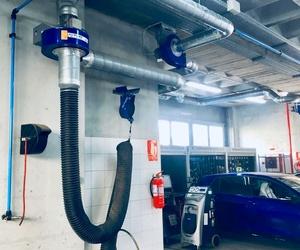 Conductos de extracción y aportación de aire.