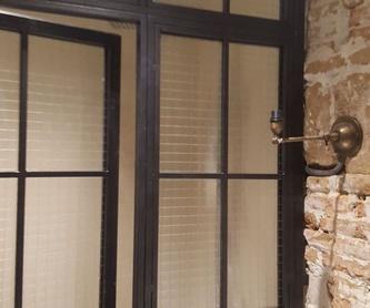 separadores de ambientes acristalados: Nuestros Trabajos de Cerrajería Geyma