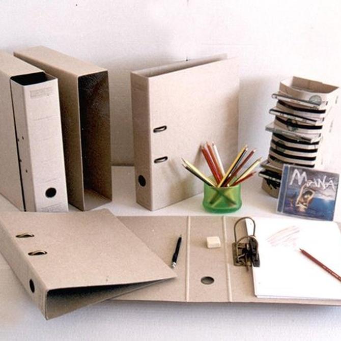 Usos para el cartón reciclado