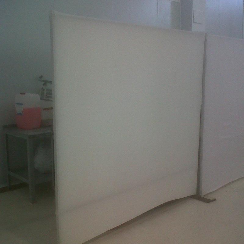 BIOMBO BLANCO 2m X 2m