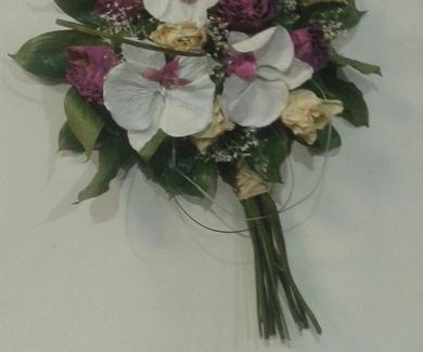 Secado ramos de novia