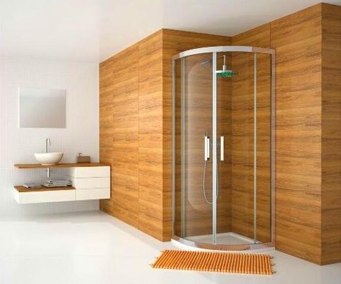 Mampara de baño y ducha, encimeras: Servicios de Cristalería Suárez Álvarez, S.L.