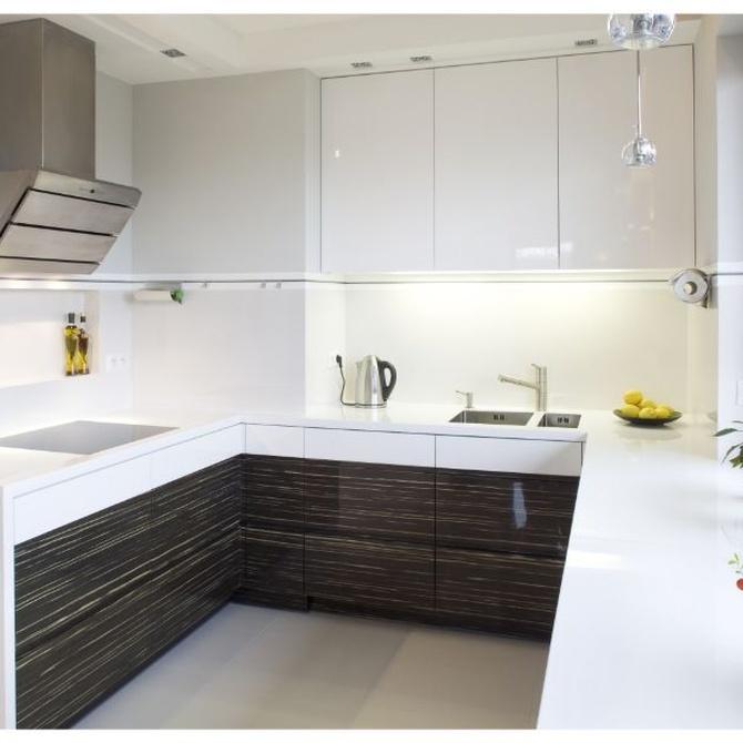 La renovación con una cocina de diseño