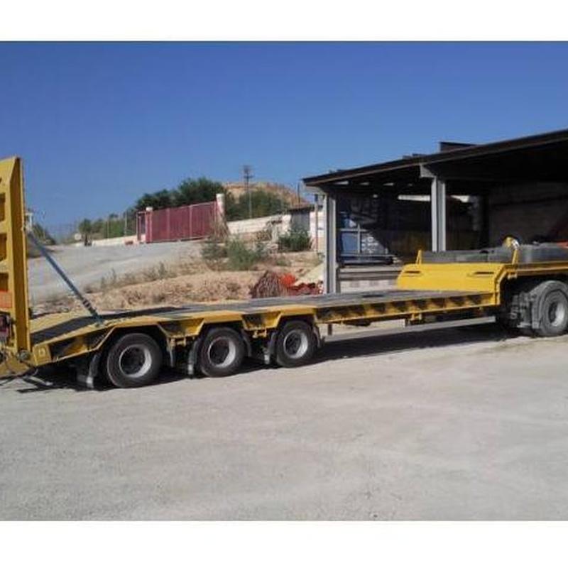 Transportes especiales: Nuestros servicios de Hijos de Miguel Serra