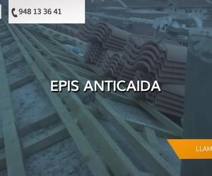 Equipos anticaídas en Pamplona