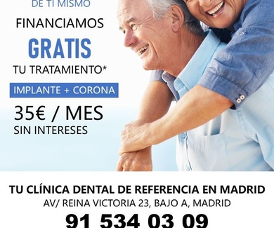 PROMOCION IMPLANTES DENTALES
