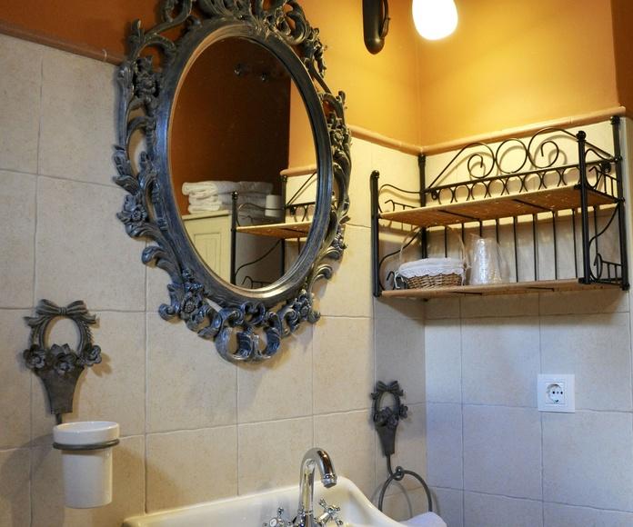 Cuarto de baño apartamento Torla.