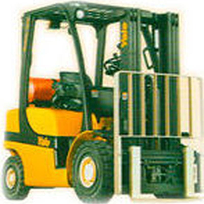 Carretilla Diesel : Maquinaria alquiler y venta de Alkira Alor