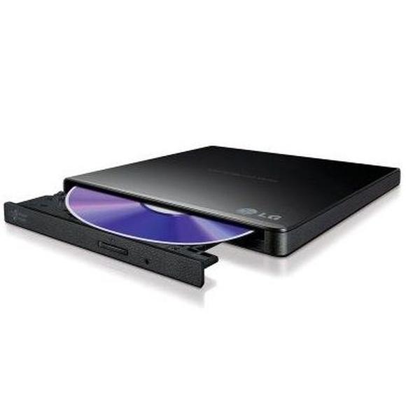 LG DVD-RW GP57EB40 Ultra-Slim Negra USB: Productos y Servicios de Stylepc