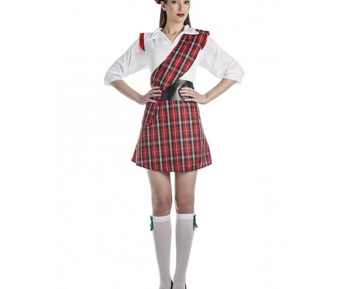 Disfraz escocesa