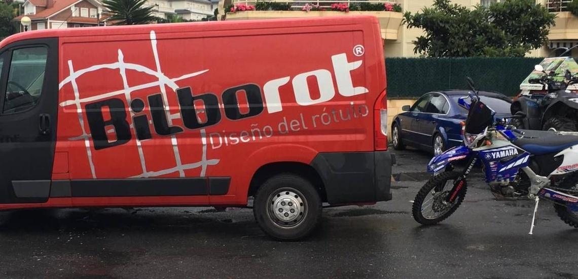 Rótulos luminosos en Bilbao: Bilborot