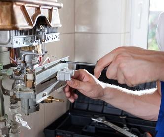 Boletines de gas: Servicios de I.R.B.