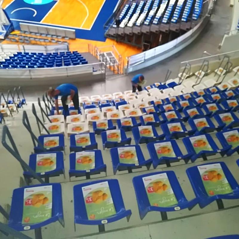 Colocación Publicitaria en Estadios y Pabellones deportivos: Servicios que ofrecemos. de Logística Integral Canaria