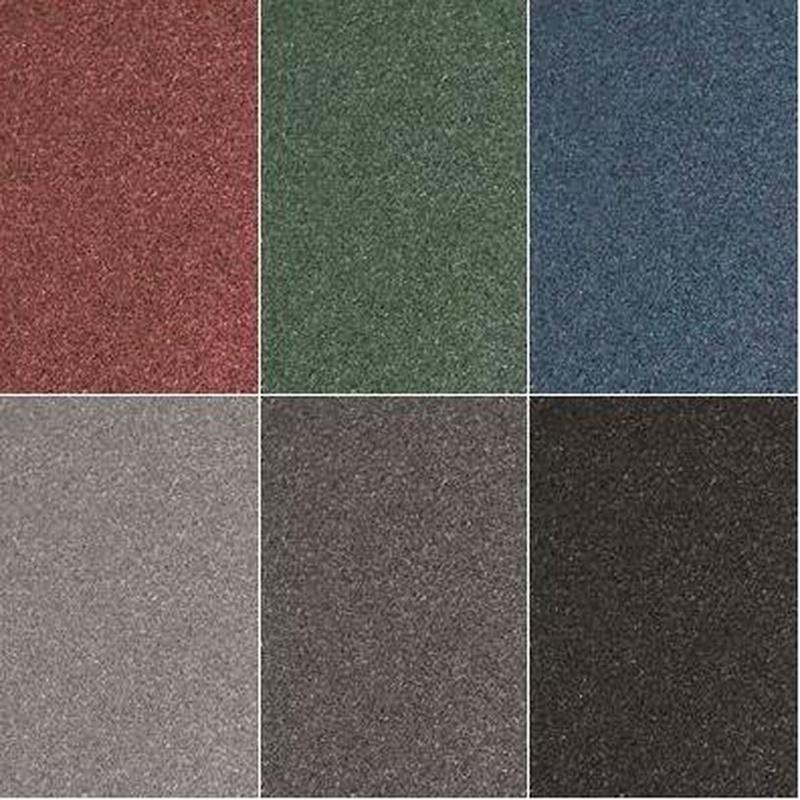Colores de loseta de caucho engarzable