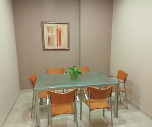 Sala de reunión en el despacho de abogados Laura Seva Gutiérrez