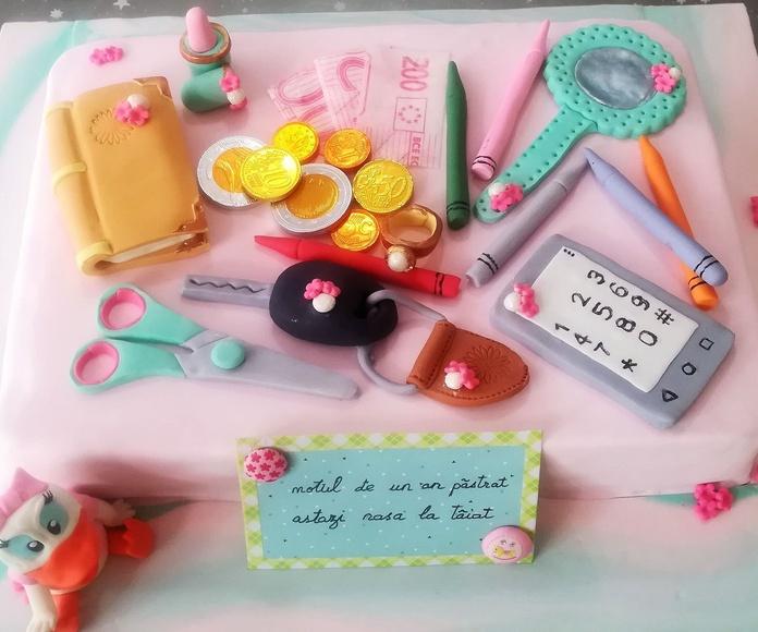 Tartas fondant temáticas: Productos de Sweet Teeny