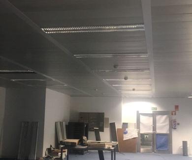 Trabajo de techos desmontables Madrid