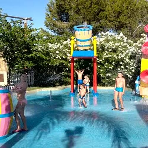 Parque acuático infantil en Ibiza