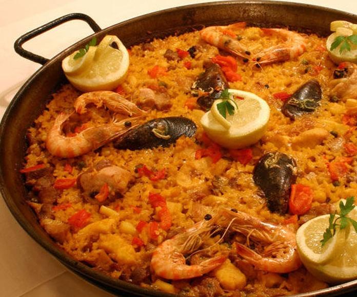 Paella Mixta: CARTA EL SEVILLANO de Restaurante Sevillano
