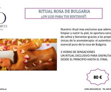 ¡¡¡ NOVEDAD !!!  RITUAL ROSA DE BULGARIA