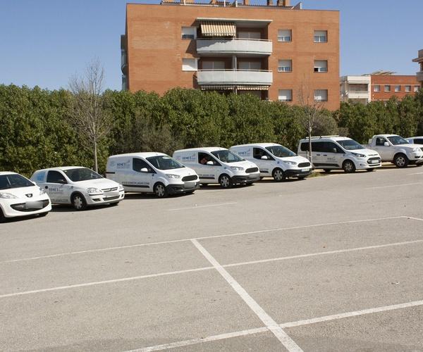 Flota de coches de Sunet Plagas