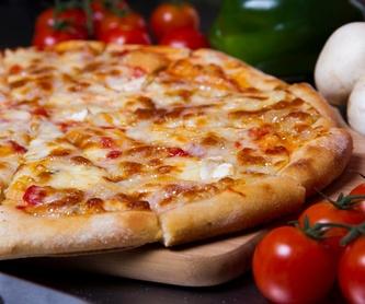 Pizzas cremosas mediana de 32 cm: Carta de Pizz-a Porter Móstoles