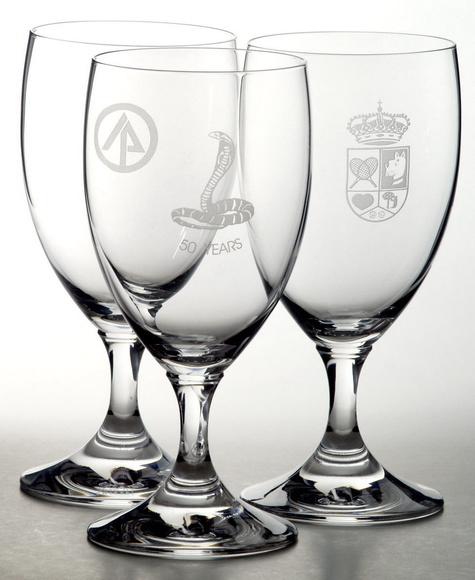 Grabado de copas de cristal: CATÁLOGO de Talleres Calvo