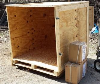 Carpintería / madera de importación: Productos y servicios de Maderas García Jara, S.L.