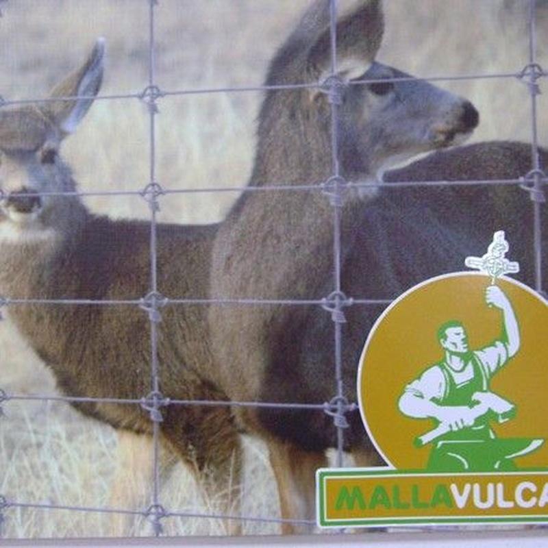 Malla ganadera de nudo vulcano: Productos y servicios de Ferretería y Mallas Portillo