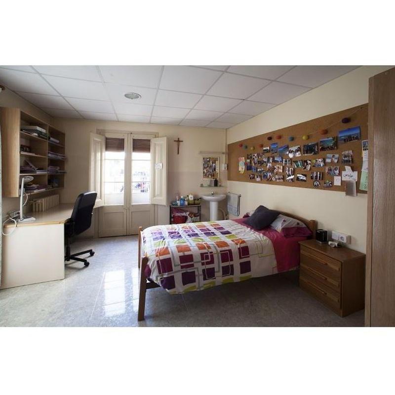 Habitaciones: Instalaciones de Residencia Universitaria Elisabets