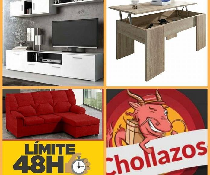 Salones: Catálogo de Chollo Muebles