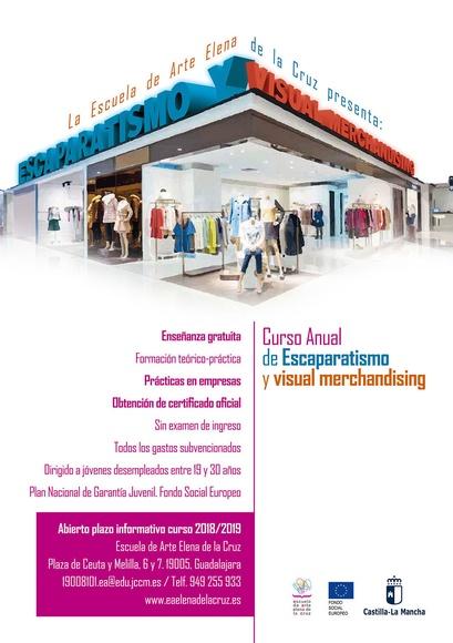 CURSO ANUAL DE ESCAPARATISMO Y VISUAL MERCHANDISING