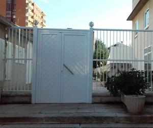 Puertas exteriores de aluminio