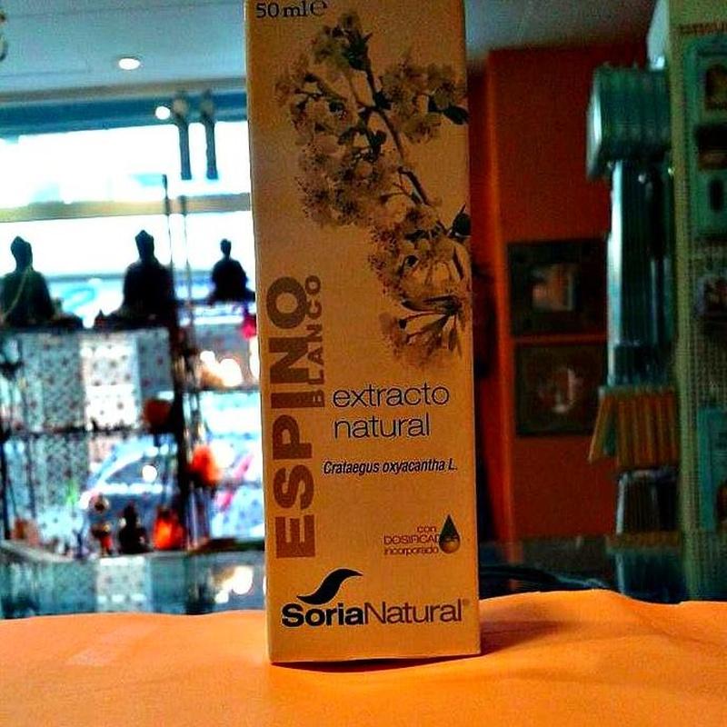 Soria Natural Espino Blanco: Cursos y productos de Racó Esoteric Font de mi Salut