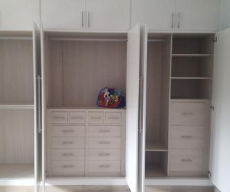 Distribución de armarios a medida