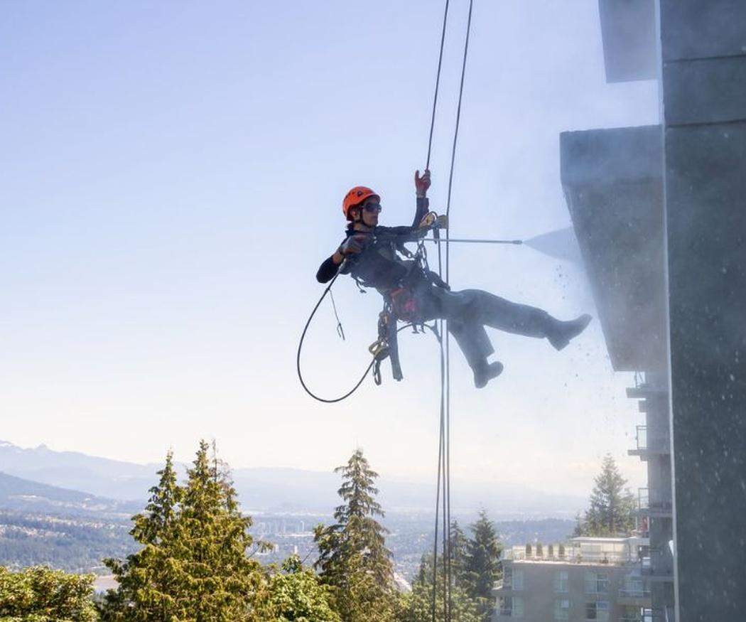 La seguridad en trabajos de altura