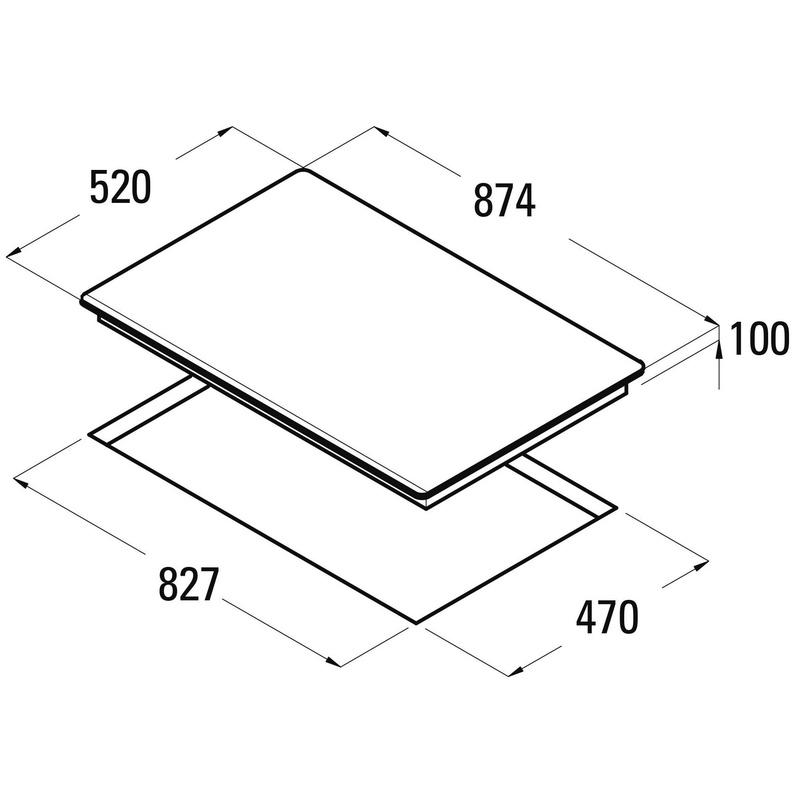 Placa cristal gas CATA LCI 941 BK: Catálogo de apluscocinas
