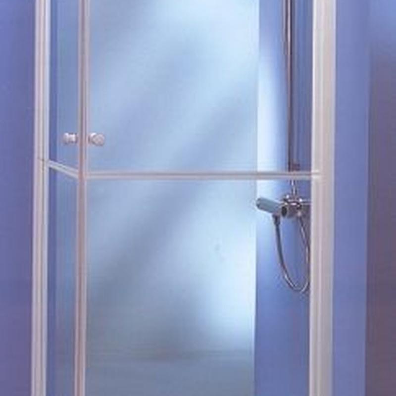 Mamparas de baño: Servicios de JRG Aluminio- PVC