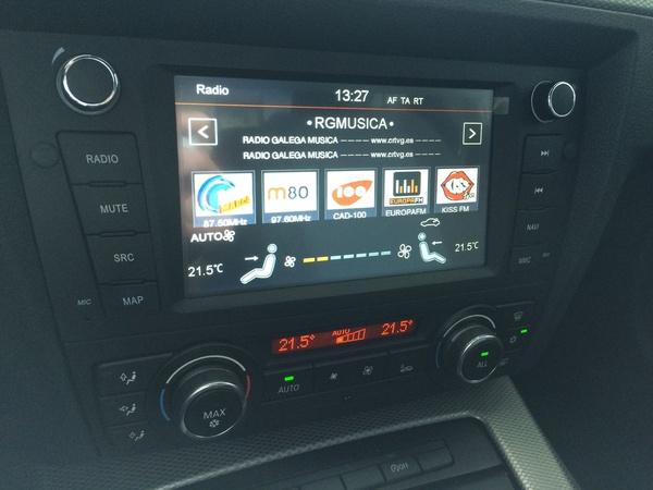 Navegador Multimedia para  BMW E90