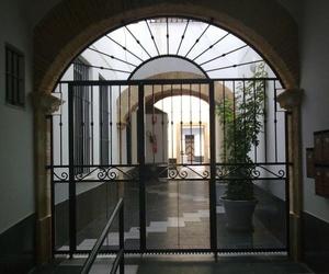 Puerta de reja para entrada