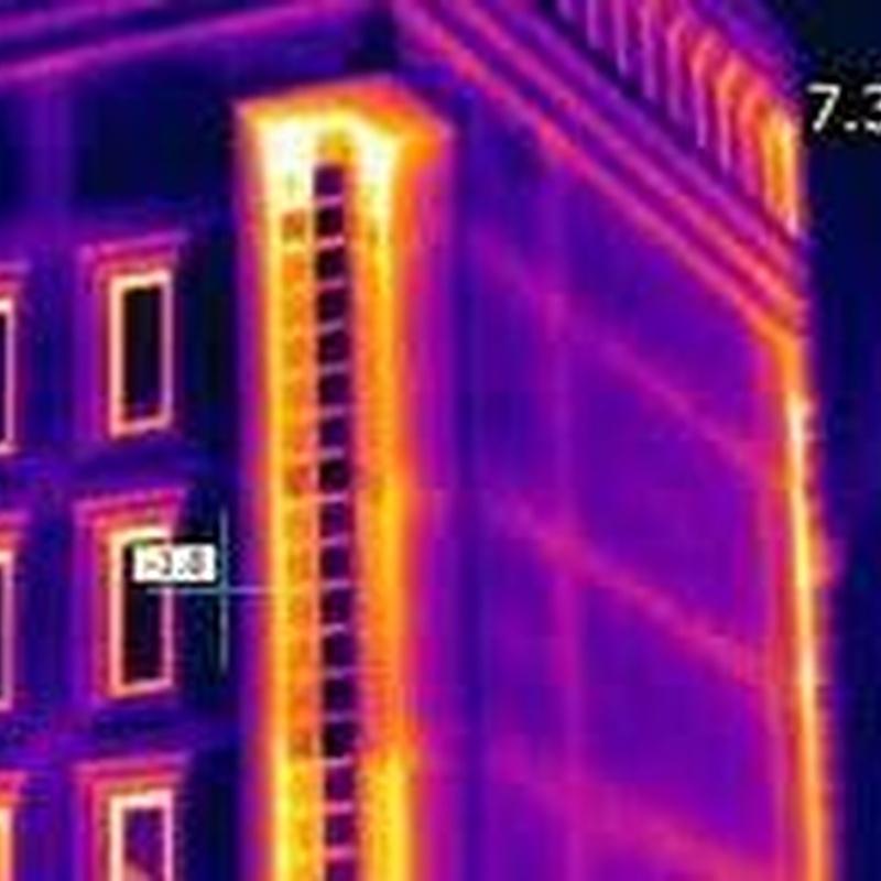 Informes termográficos sin coste: Trabajos de Fachadas Cantabria